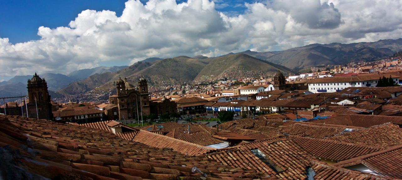 Fotografía de la Plaza de Armas del Cusco