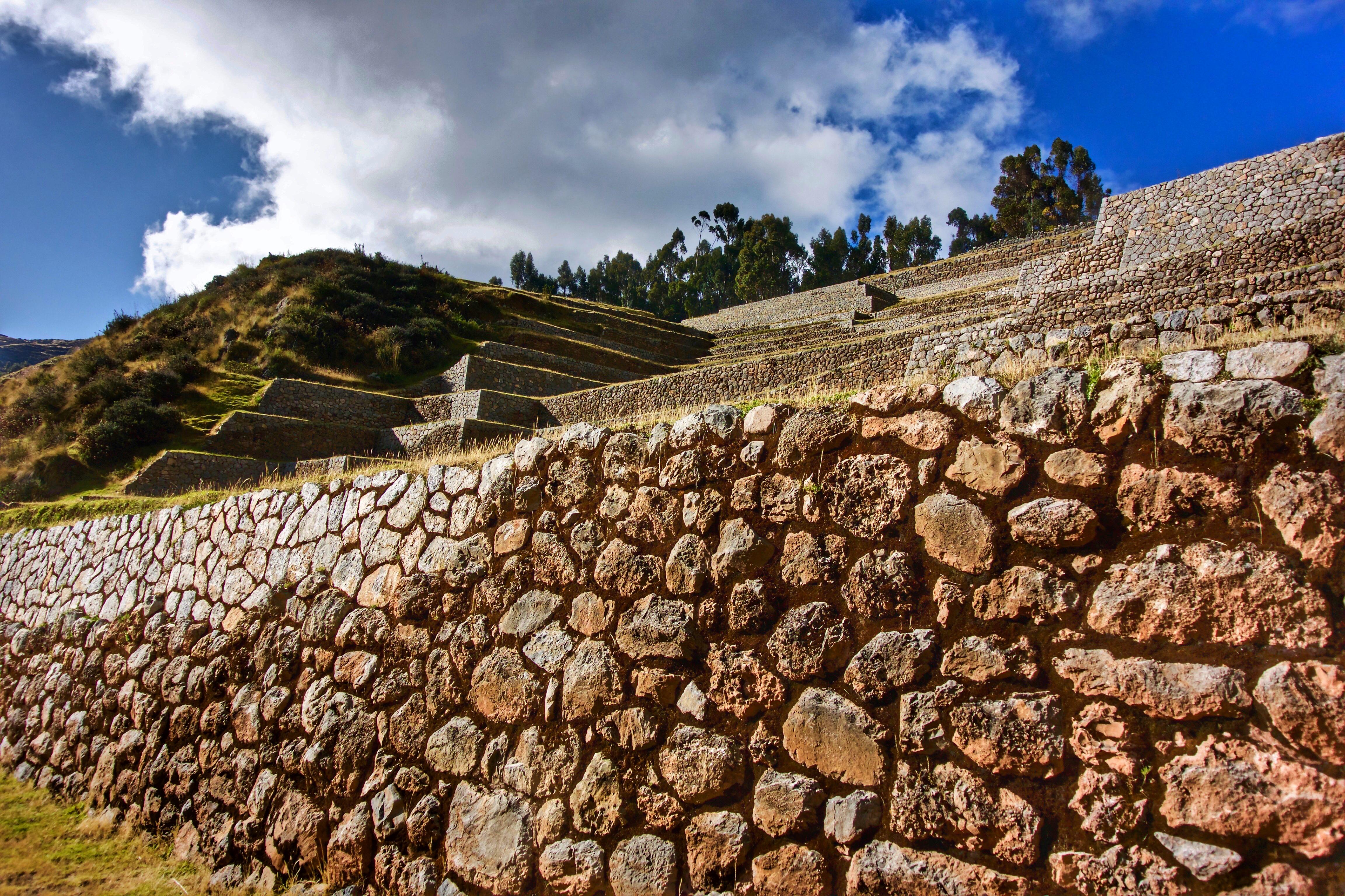 Sistema de andenes en el Perú