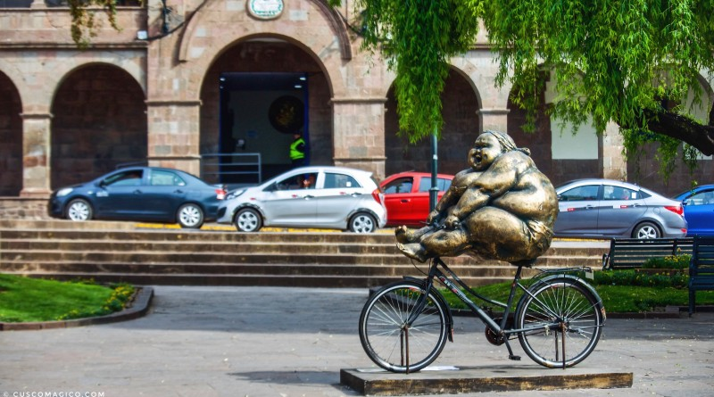Xu Hongfei en Cusco