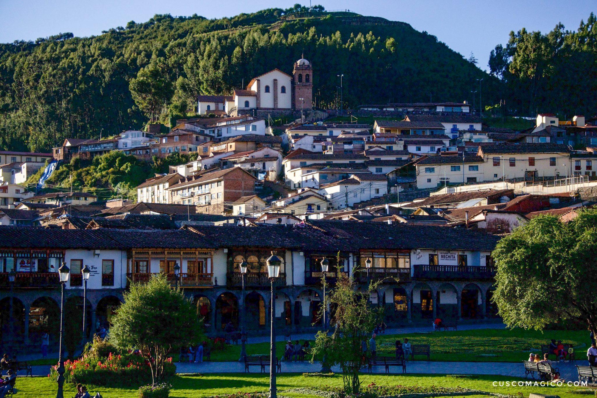 El Cusco, actualmente capital Histórica del Perú